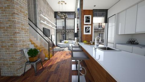 Nance - Modern - Kitchen  - by sahfs