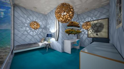 percy jackson themed room - Modern - Bedroom  - by percy_jackson_geek