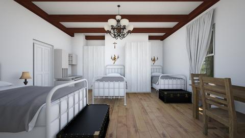 Antique Feel - Bedroom  - by SammyJPili