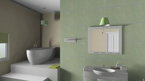 green - Classic - Bathroom  - by alle_dv