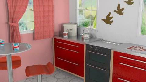 Retro kitchen - Retro - Kitchen  - by richardsbm