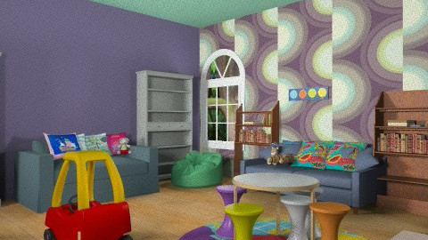 Kids PlayRoom - Minimal - Kids room  - by DiamondJ569
