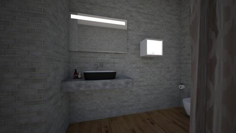 Katerins bathroom  - Modern - Bathroom  - by katerin auceda