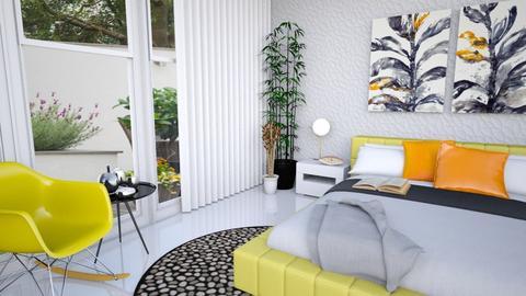 bedroom1 - Modern - Bedroom  - by Anseva