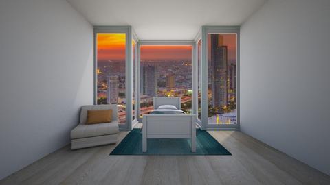 Teen bedroom - by Bela Hoffmann