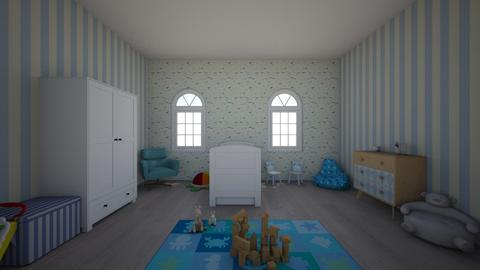 Blue - Kids room  - by Noelani25