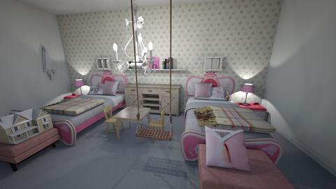 kids room - Bedroom  - by Tamar_