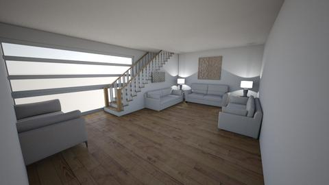 the high rise simple - Living room  - by Its hamzah