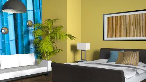 Tropical sleep - Eclectic - Bedroom  - by channing4