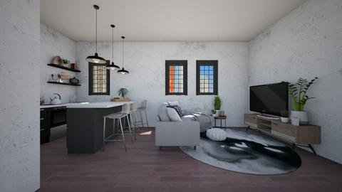 C21 - Living room - by Gabrielle Binguan