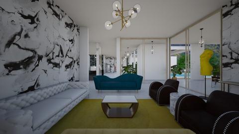 Glamour_living room_art2 - Living room  - by lovasemoke