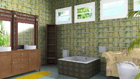 T.B. - Eclectic - Bathroom  - by milyca8
