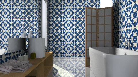 Tiled Up 2 - Minimal - Bathroom  - by 3rdfloor