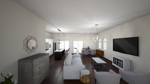 New house 4 - Living room - by Niva T
