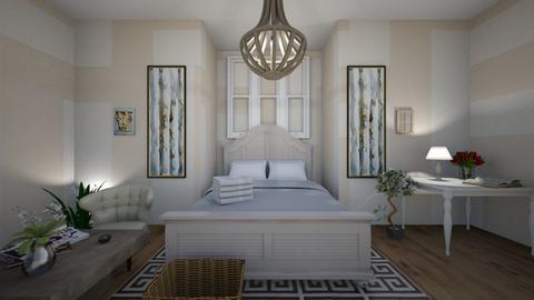 Greek themed room  - Bedroom  - by Familyhousemaker3D