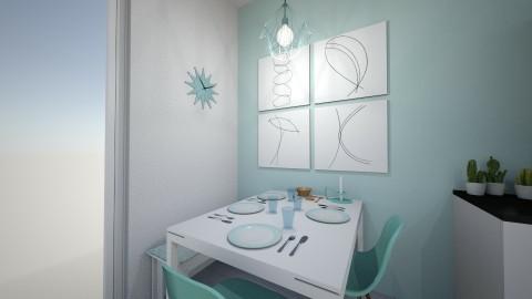 Cocina Sofia 3 - Modern - Kitchen - by spinelli