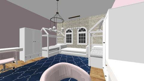 molly and gracie room - Kids room  - by AVT22