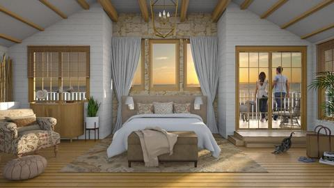 Design 521 Oceanside Dreams - Bedroom  - by Daisy320