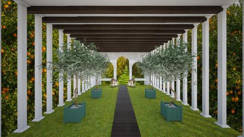 Modern Bespoke Garden - Modern - Garden  - by evabarrett