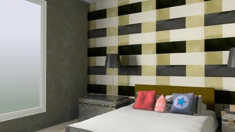 hotel - Retro - Living room  - by leonor_ramos