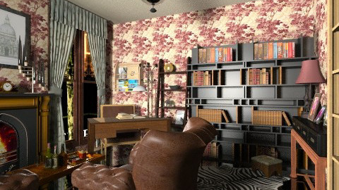 mr holmes - Vintage - Office - by Veny Mully