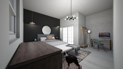 Cosy Bedroom - Bedroom - by adfgijiofdfhjb