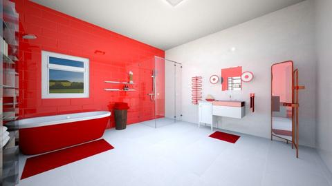 redbathroom - Bathroom - by Emma_04
