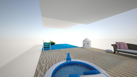Private Beach - Garden  - by Unimermaid22