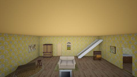 Buried Child - Living room  - by destinysauls