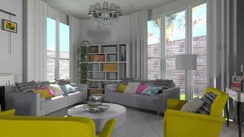Hall 014 - Classic - Living room  - by Bandara Beliketimulla