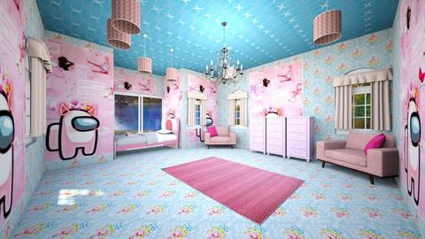 among us girl room - Kids room  - by Sofia and kiki
