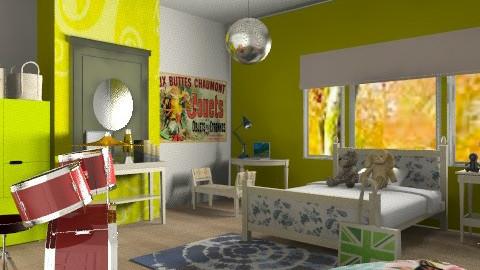 Girl space - Eclectic - Bedroom  - by mrschicken