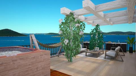 rooftop terrace - by Doraisthe_nameofmydoggo12345