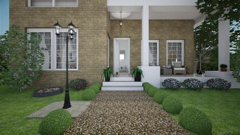 Home entrance - Vintage - by Louisa caulton