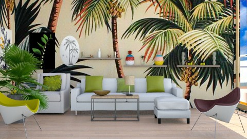 Tropical Prints 2 - Modern - Living room  - by InteriorDesigner111
