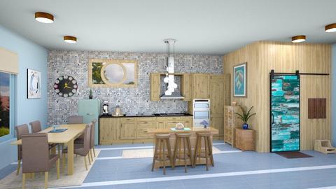 IP Artisan Kitchen - Modern - Kitchen  - by zayneb_17