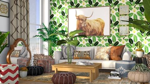 Boho_Contest_millerfam - Living room  - by millerfam