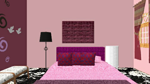 Bedroom Design - Glamour - by Bushra Afreen