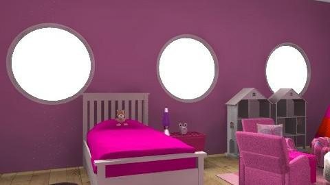 kisláány szobaa - Glamour - Kids room  - by esztix