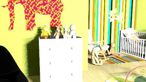 animal kingdom nursery - Modern - Kids room  - by bharriett