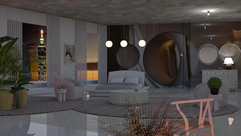 Blurry Bedroom - Bedroom  - by Sue Bonstra