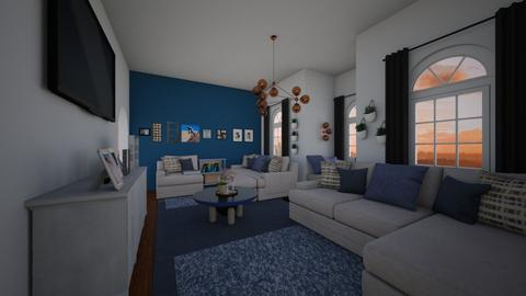 ReeAnd - Living room  - by emivim