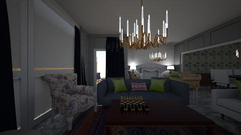 Option 2 living - Living room - by zahretelwady