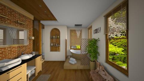 Raindrops Shower - Bathroom  - by thefairysknight
