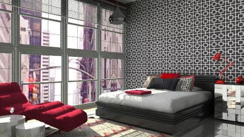 Splash of Colour! - Modern - Bedroom - by cara_98