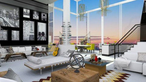 Trendy  - Eclectic - Living room  - by AlSudairy S