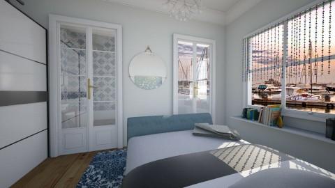 By the sea - Vintage - Bedroom  - by bibi_pat