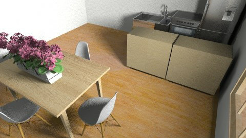 alannas room - Retro - Bedroom  - by ang1stokes