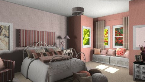 La Vie En Rose - Vintage - Bedroom  - by bia_freitas