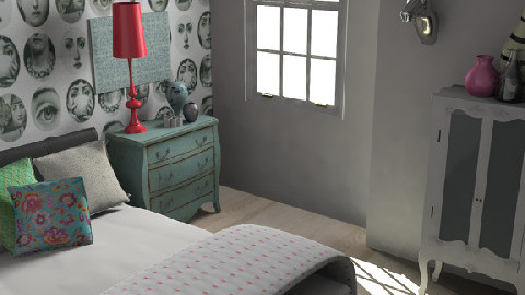 Morshead Mansions12 - Eclectic - Bedroom - by pia